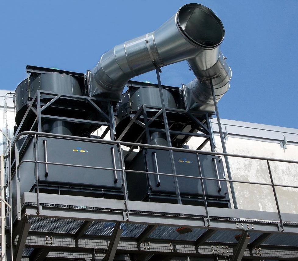 集成热回收的废气模式