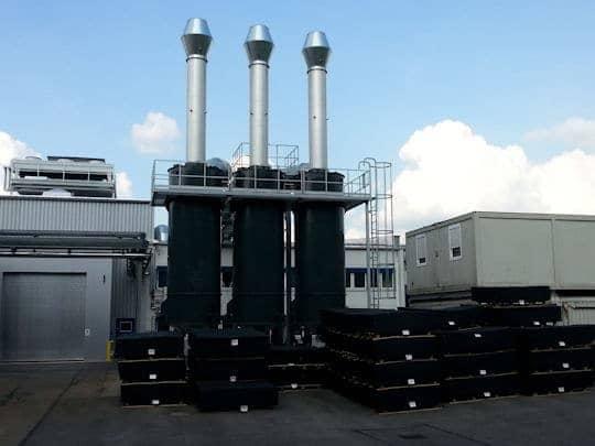 热量回收和气味消除 。