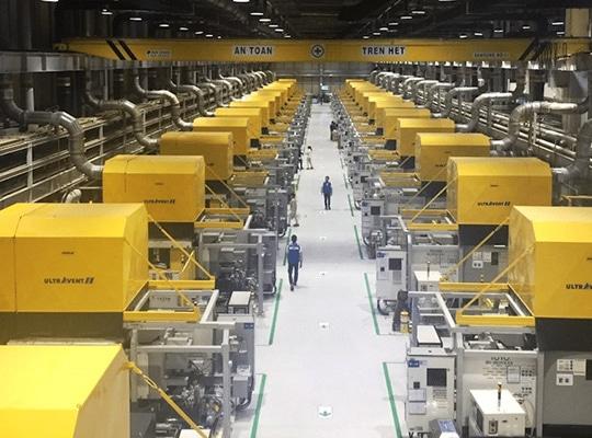 全球安装超过2500套空气过滤器系统。