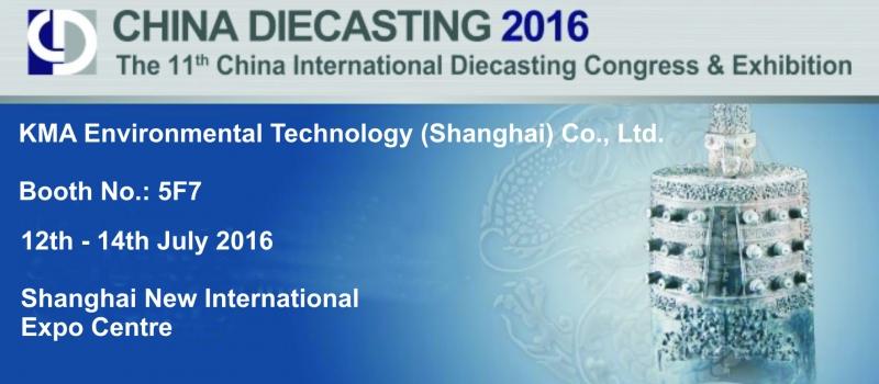 KMA at CHINA DIECASTING 2016